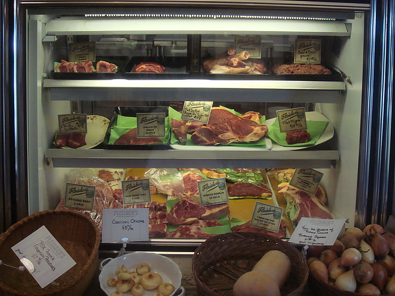 Butcher Case at Fleisher's