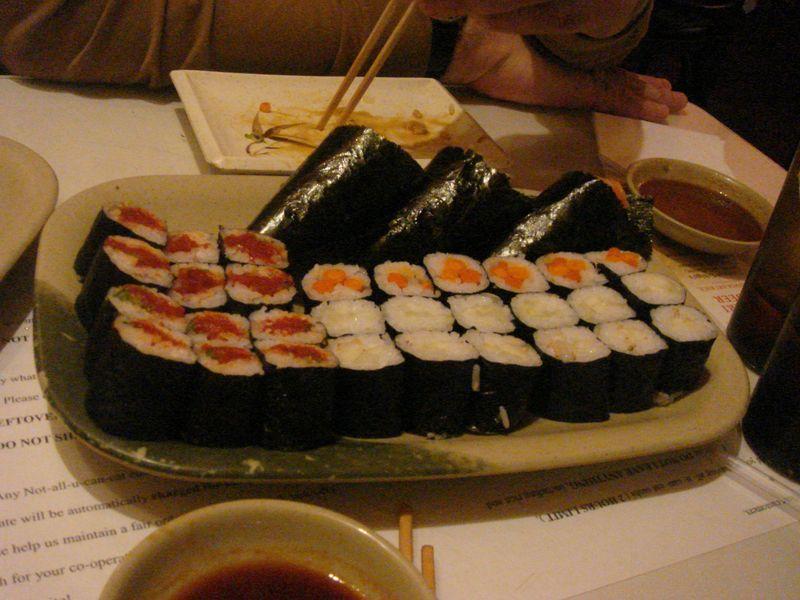 Sushi at Yuka